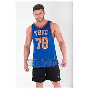 Trec Wear Koszulka Jersey 010 Royal Blue 1/4