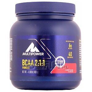 Multipower Professional Bcaa powder 400g 1/1