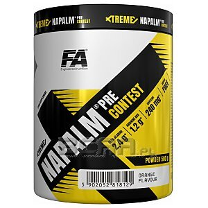 Fitness Authority Xtreme Napalm Pre-Contest 500g 1/2