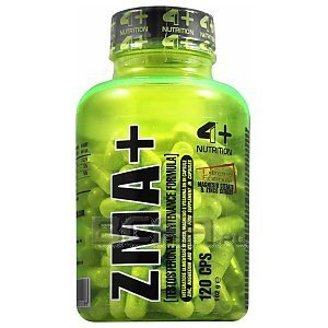 4+ Nutrition ZMA+ 120kaps. 1/2