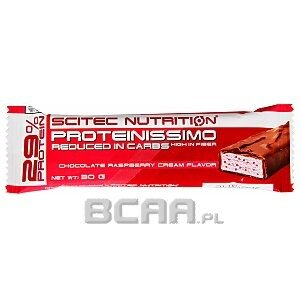 Scitec Proteinissimo Bar Reduced In Carbs 30g 1/2
