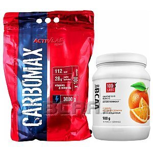 Activlab CarboMax Energy Power + 100% LABS Econo BCAA 3000g+500g [promocja] 1/4