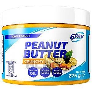 6Pak Nutrition Peanut Butter PAK Crunchy 275g 1/1