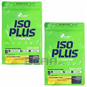 Olimp Iso Plus Sport Drink Powder 1505g + 1505g [promocja] 1/1