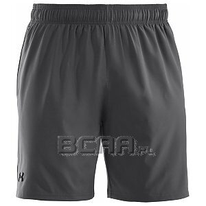 "Under Armour Men's HeatGear Mirage Short 8"" szary 1/5"