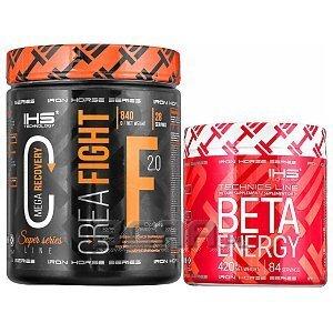 Iron Horse Series Crea Fight 2.0 + Beta Energy 840g+420g [promocja] 1/3