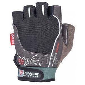 Power System Rękawiczki Treningowe Womans Power (PS-2570) czarno-szare 1/1