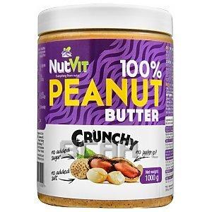 NutVit 100% Peanut Butter Crunchy 1000g 1/1