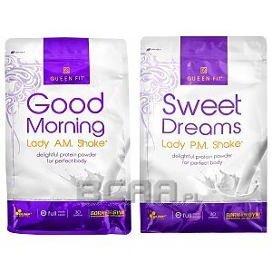 Olimp Good Morning Lady AM Shake + Sweet Dreams Lady PM Shake 720g+750g 1/3