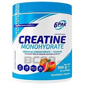 6Pak Nutrition Creatine Monohydrate 500g 1/1
