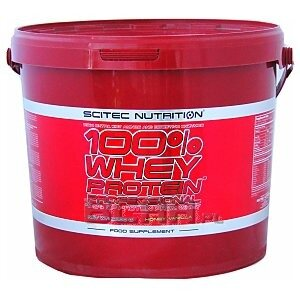 Scitec 100% Whey Protein Professional 5000g [promocja] 1/1