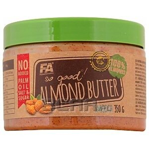 Fitness Authority So Good! Almond Butter Smooth (migdały) 350g 1/1