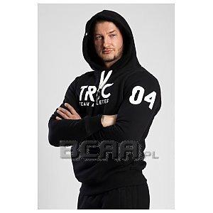 Trec Wear Bluza Hoodie 043 Black 1/4