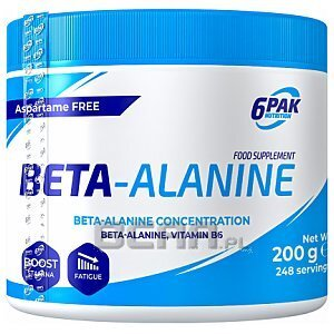 6Pak Nutrition Beta Pak 200g 1/1