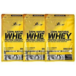 Olimp 100% Natural Whey Protein Concentrate 2100g [3x700g] 1/1