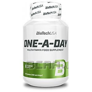 BioTech USA One a Day 100tab. 1/1