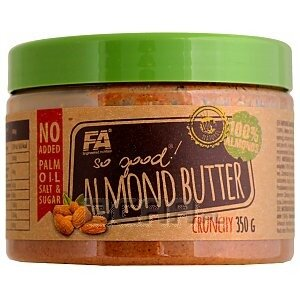 Fitness Authority So Good! Almond Butter Crunchy (migdały) 350g 1/1