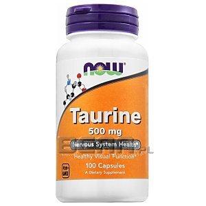 Now Foods Taurine 500mg 100kaps. 1/2