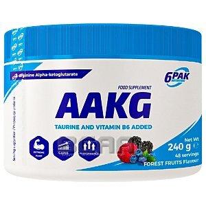 6Pak Nutrition AAKG 240g 1/1