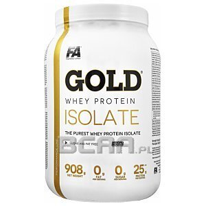 Fitness Authority Gold Whey Protein Isolate 908g 1/2