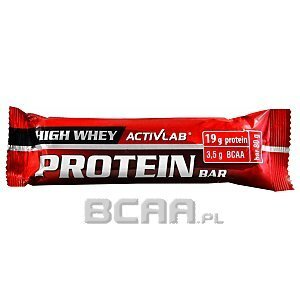 Activlab High Whey Protein Bar black currant 80g Wyprzedaż! 1/1