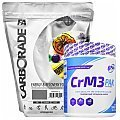 Fitness Authority Carborade + 6Pak Nutrition CrM3