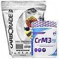 Fitness Authority Carborade + 6Pak Nutrition CrM3