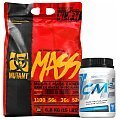 PVL Mutant Mass + 100% LABS Natural Creatine