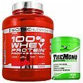 Scitec 100% Whey Protein Professional + 100% LABS Elite Creatine