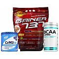 Megabol Gainer 737 + 100% LABS Elite BCAA + Natural Creatine