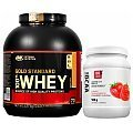 Optimum Nutrition 100% Whey Gold Standard + 100% Econo BCAA