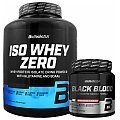 BioTech USA Iso Whey Zero + Black Blood NOX+ + Shaker