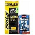 Isostar Hydrate & Perform Koncentrat + Nutrend Flexit Drink