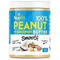 NutVit 100% Peanut + Coconut Butter Smooth