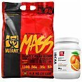 PVL Mutant Mass + 100% LABS Econo BCAA