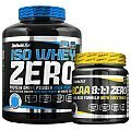 BioTech USA Iso Whey Zero + BCAA 8:1:1 Flash Zero