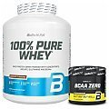 BioTech USA 100% Pure Whey + BCAA Flash Zero Christmas Special + Shaker