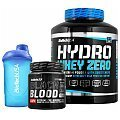 BioTech USA Hydro Whey Zero + Black Blood CAF+ + Shaker