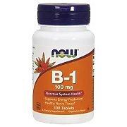 Now Foods Vitamin B1 Thiamine 100mg