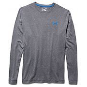 Under Armour Koszulka Męska ColdGear Lightest Warmest Crew 1259675-002 ciemnoszary 4/5
