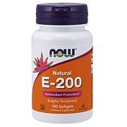 Now Foods Vitamin E-200 Natural