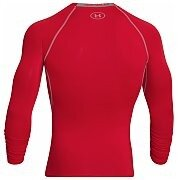 Under Armour Rashguard Męski Heatgear Armour Compression Longsleeve 1257471-600 czerwony 2/6