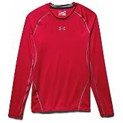 Under Armour Rashguard Męski Heatgear Armour Compression Longsleeve 1257471-600 czerwony 6/6