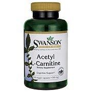 Swanson Acetyl L-Carnitine ALC 500mg