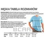 Under Armour Koszulka Męska Charged Cotton® Sportstyle Left Chest Logo T 1257616-410 granatowy 7/7