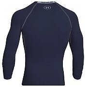Under Armour Rashguard Męski Heatgear Armour Compression Longsleeve 1257471-410 granatowy 2/3