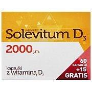 Solevitum D3 2000 60kaps.+15kaps. GRATIS! 2/3
