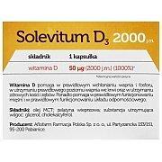 Solevitum D3 2000 60kaps.+15kaps. GRATIS! 3/3