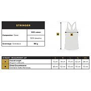 Trec Wear Stringer 022 Stripe Beige 5/5