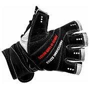 Olimp Rękawiczki z Usztywnieniem Competition Wrist Wrap White  2/2